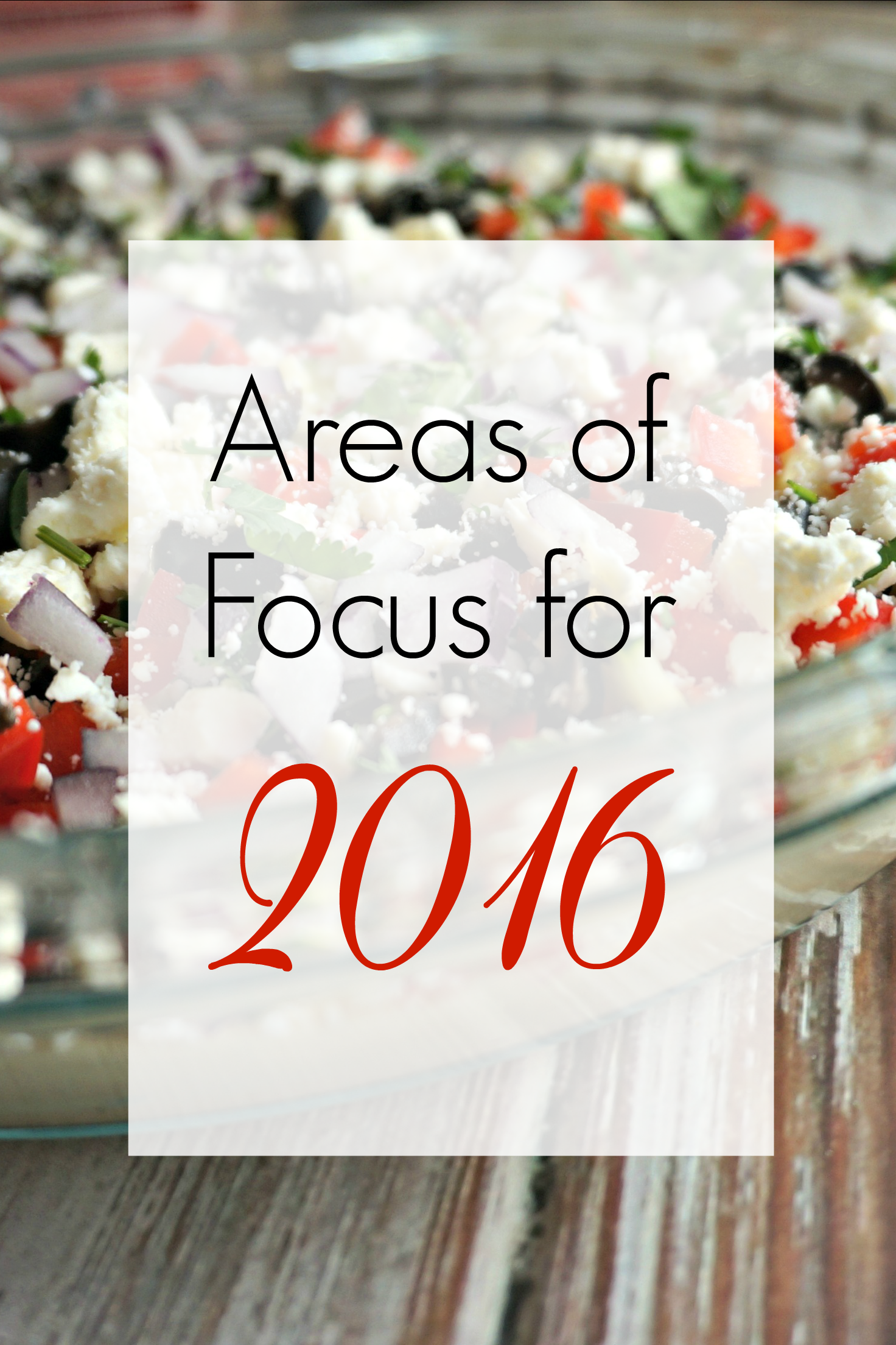 The Long List of 2016 Aspirations A Healthy Slice of Life