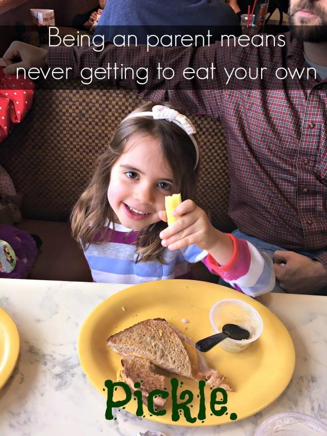 kids steal pickles