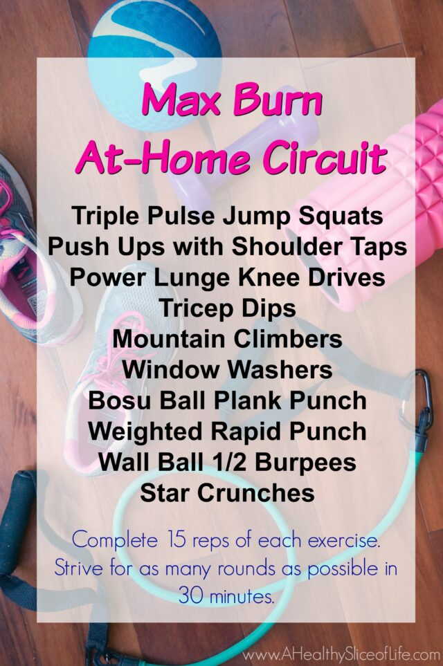 max burn at home circuit bbc