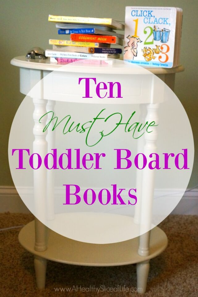 must have toddler board books