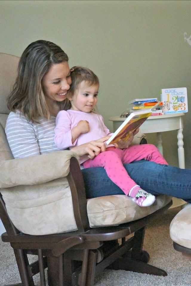 toddler reading book favorites