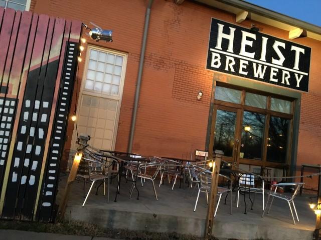 heist brewery charlotte