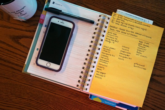 detailed family meal plan january a healthy slice of life