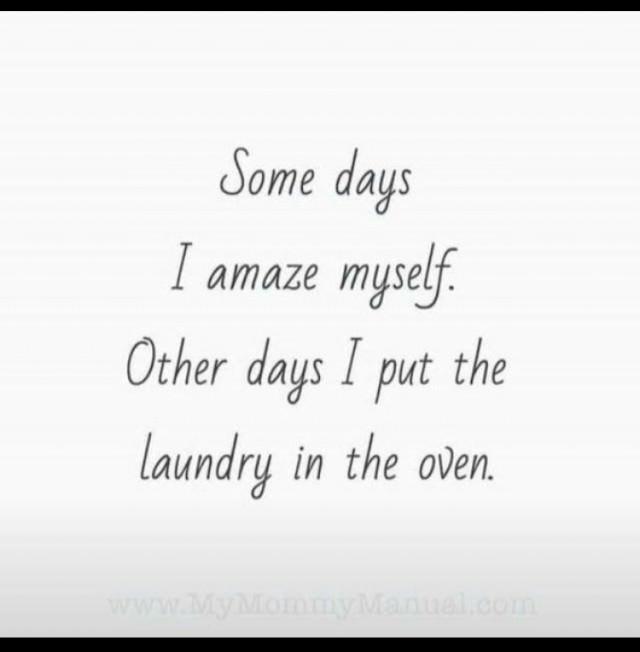 some days I amaze myself