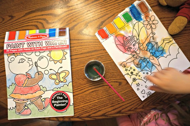 Melissa and doug paint with water