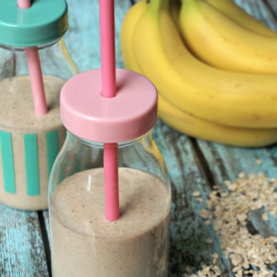 The Busy Mom's Oatmeal Bowl (Smoothie!)