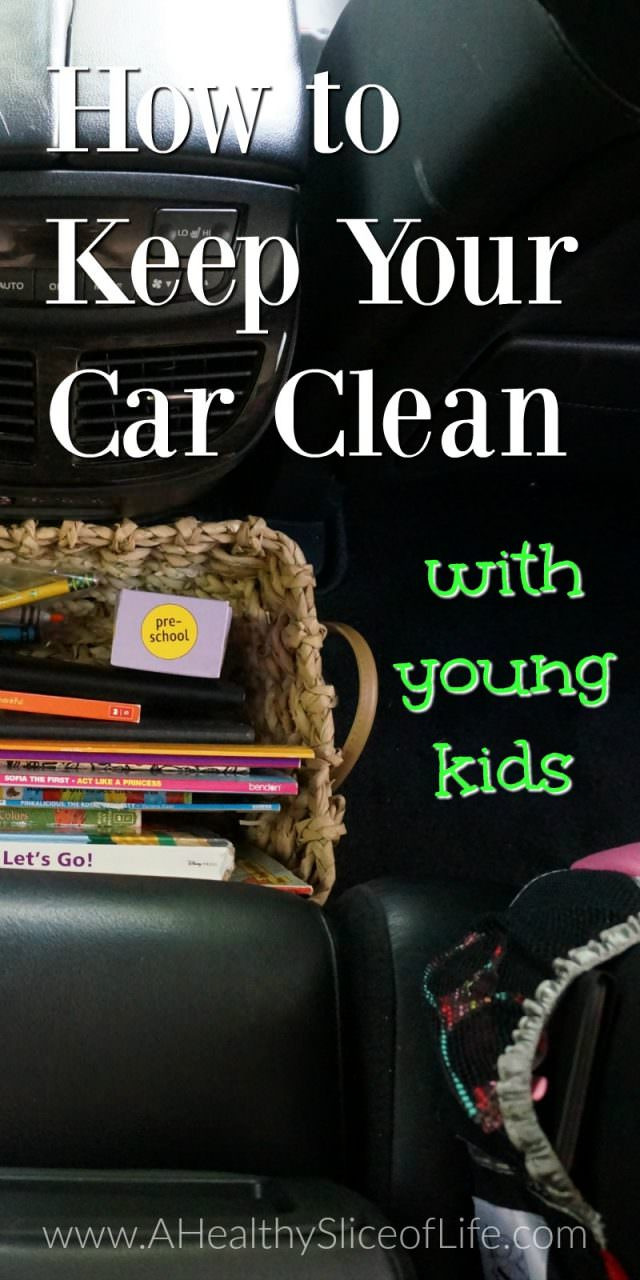 How to keep your car clean with little kids How to keep your car exterior clean