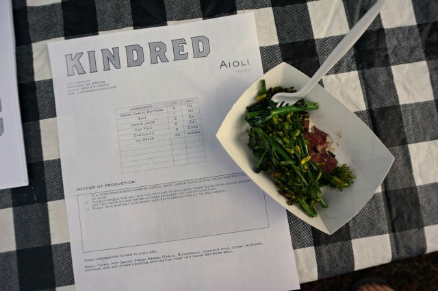 spring break- kindred aioli recipe