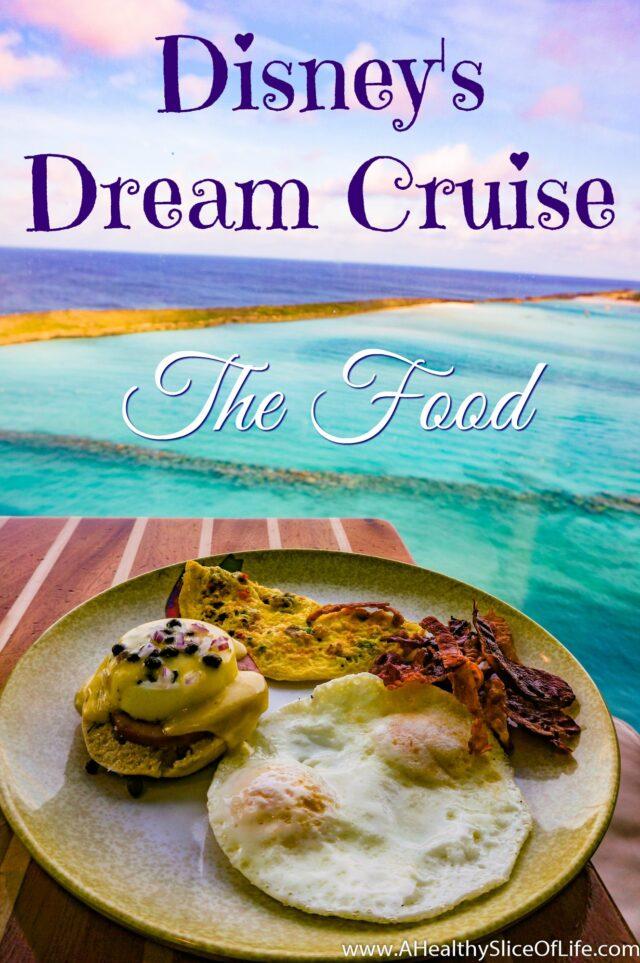 disney dream cruise food