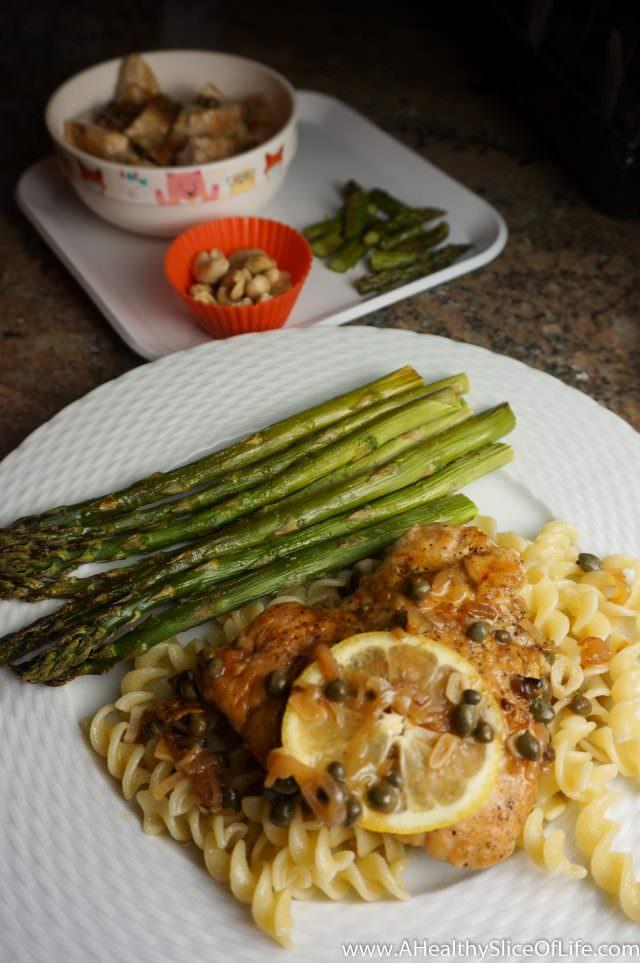 healthy dinner ideas- chicken picatta