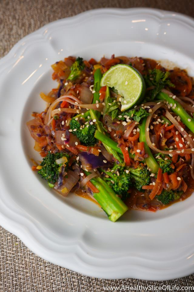 healthy dinner ideas- thai