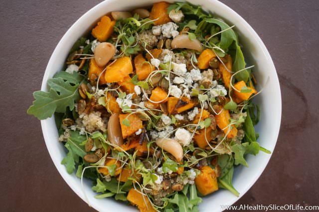 healthy dinner ideas- salad