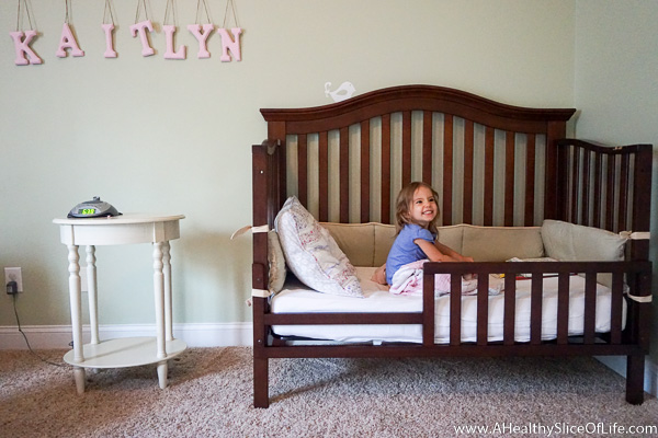 The Big Girl Bed Transition That Wasn 39 T A Healthy Slice