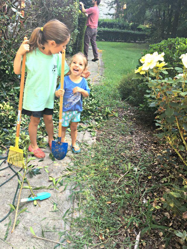 yard work sisters