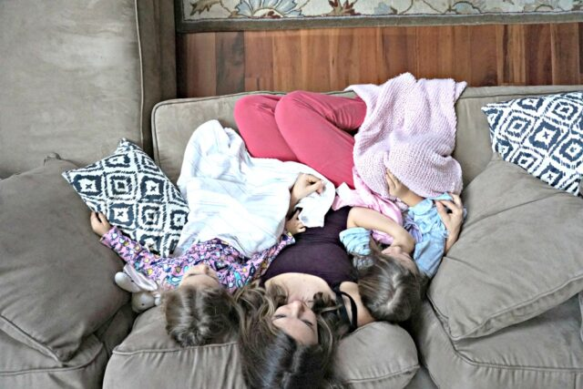 girls-and-mom-snuggles