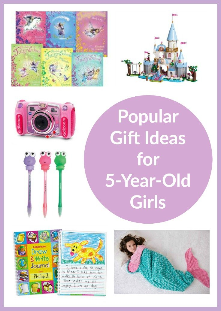 Gift Ideas For A 5 Year Old Girl