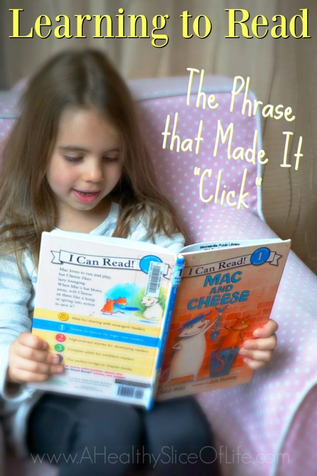 learning to read phrase