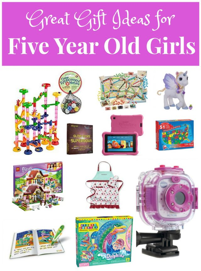 great gift ideas for five year old girls