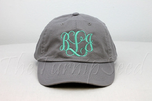 monogram-hat