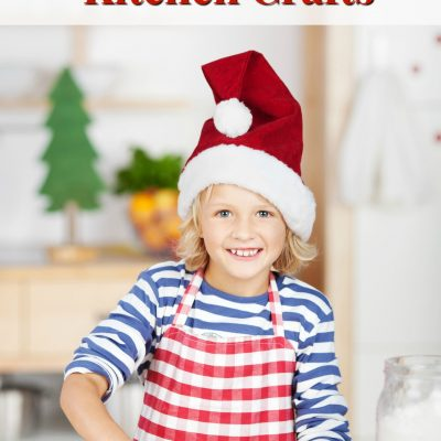 3 Christmas Kitchen Crafts for Kids
