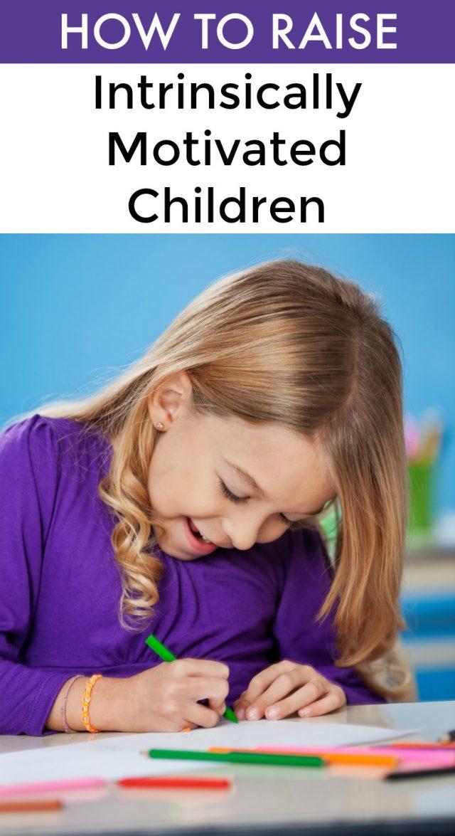 raising kids with internal motivation