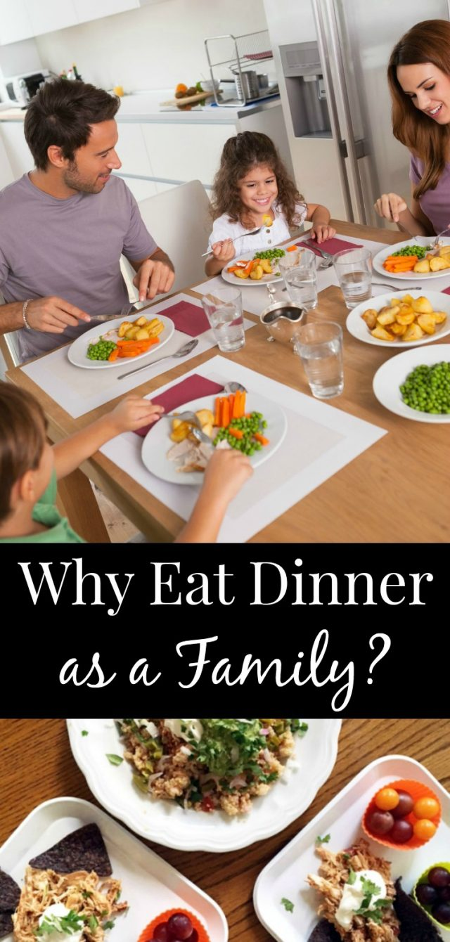 what changed when we started having family dinners