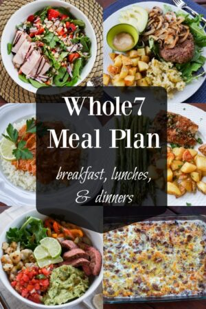 whole7 meal plan