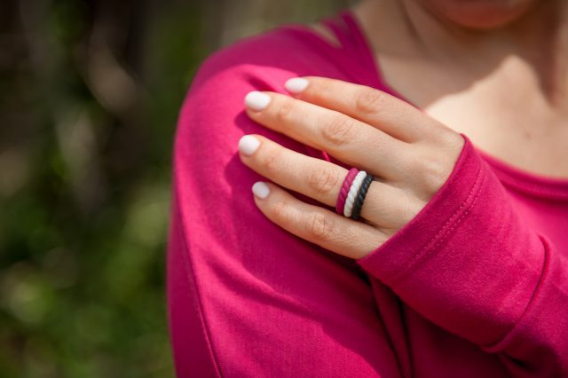 fashionable amp functional wedding rings a healthy slice