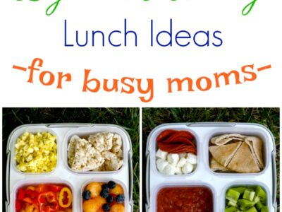 lunch ideas for busy moms