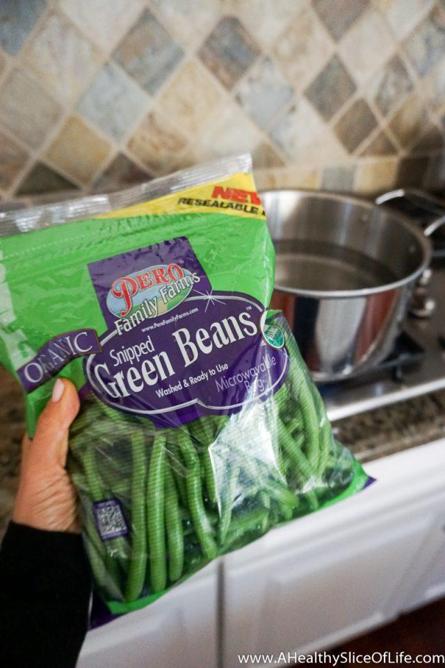 bagged green beans Pero