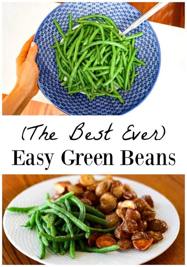 easy green beans for the family recipe