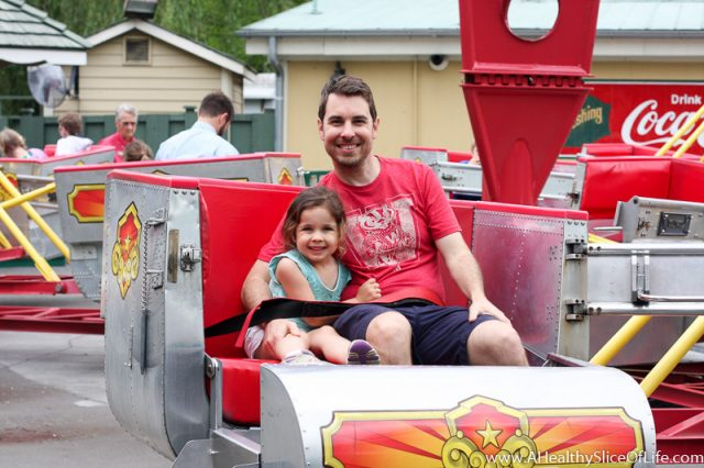 dad and daughter dollywood