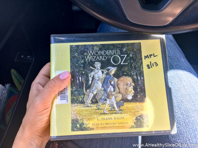 the wizard of Oz audio cd