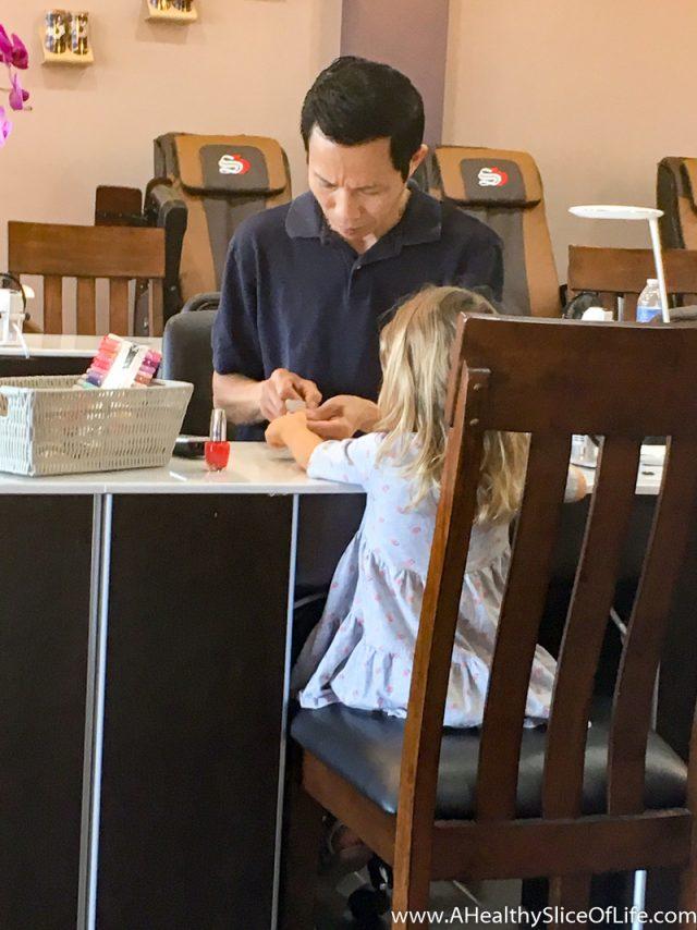 toddler nail salon