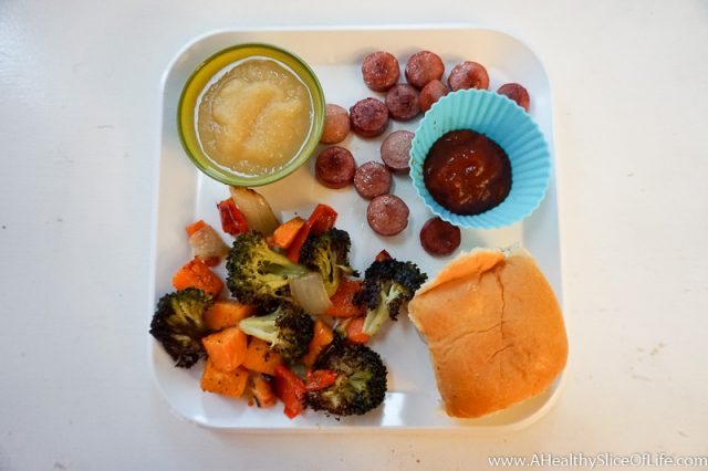 roasted veggies toddler