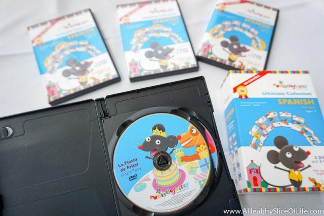 Whistlefritz spanish dvds