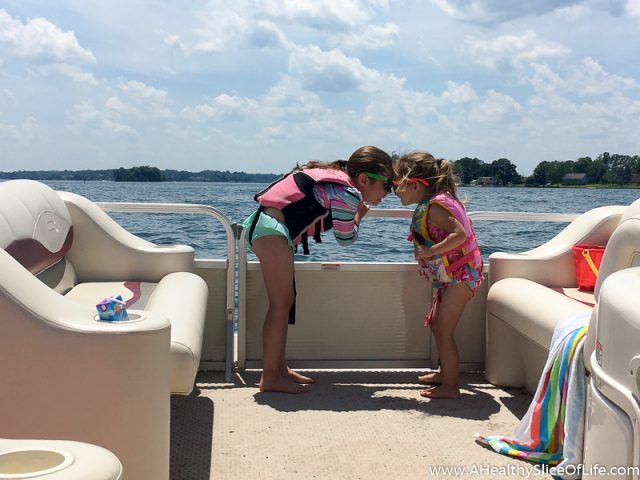 girls on boat