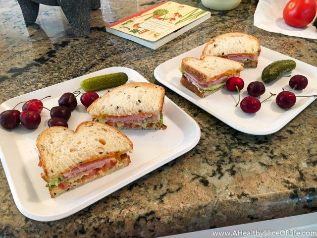 sandwich kid lunch
