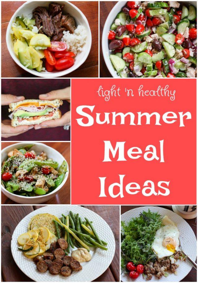 healthy summer meals