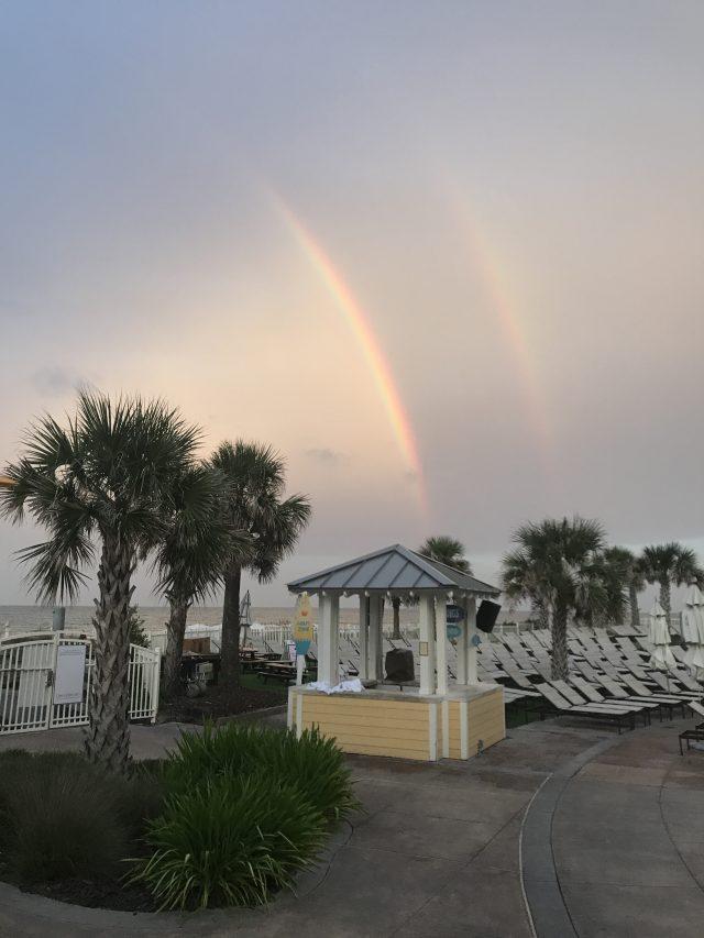 double rainbow Amelia Island