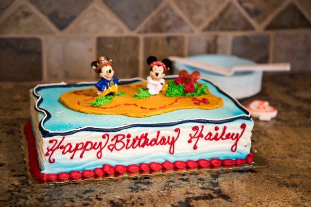 mickey and minnie pirate cake