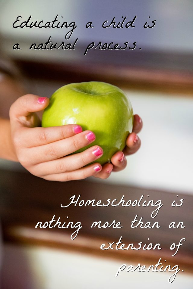 homeschooling is a natural process