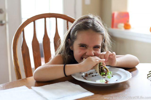 kid friendly vegetarian meal