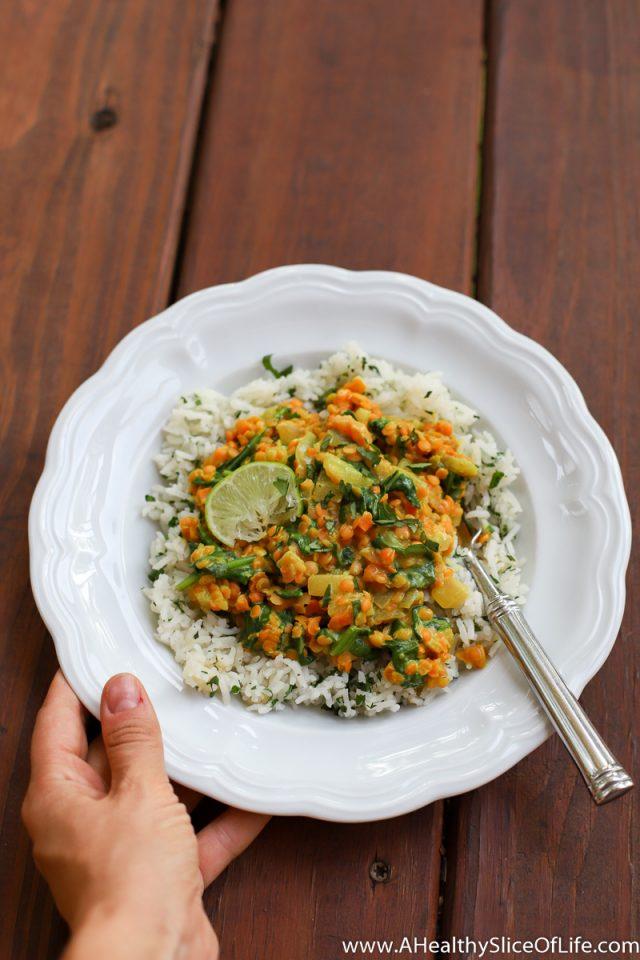 golden red lentil dal recipe
