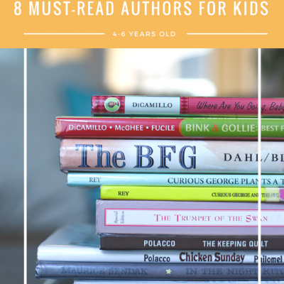 8 Children's Authors Your 4-6 Year Old Will Love