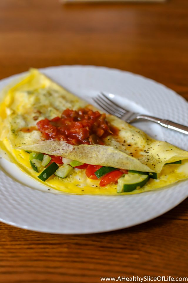 no dairy vegetable omelet