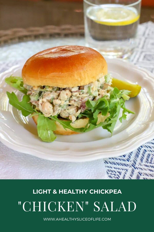 chickpea chicken salad sandwich