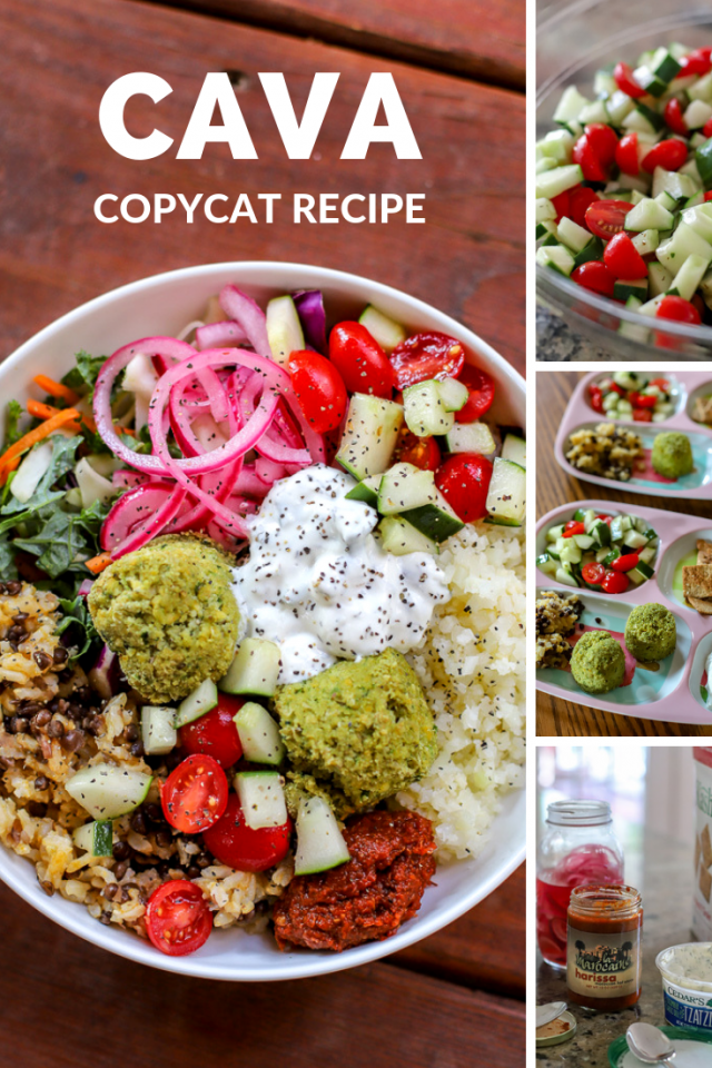At home CAVA copycat bowl in less than 30 minutes!