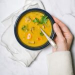 Germ-Busting Golden Soup With Beans and Vegetables