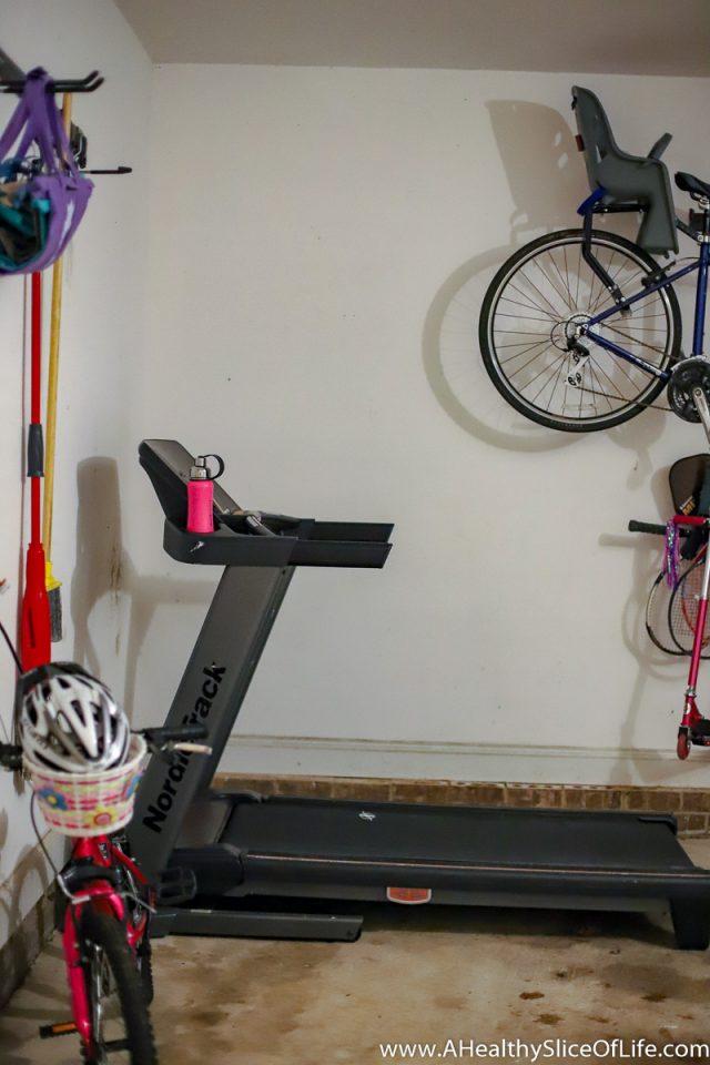 treadmill garage